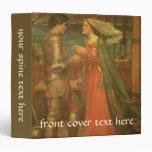 Tristan and Isolde by Waterhouse, Vintage Fine Art Vinyl Binder