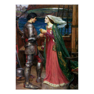 Tristan and Isolde Canvas Print