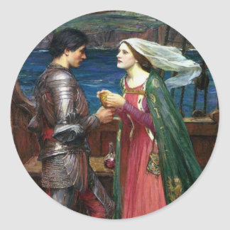 Tristan and Isolde Large Sticker