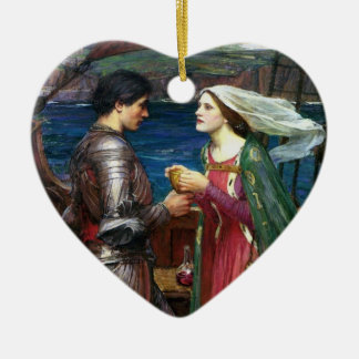 Tristan and Isolde Ornament