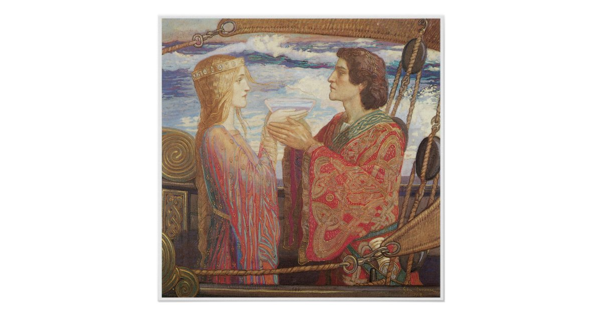 essay on tristan and iseult Le morte d'arthur was first published in 1485 by william caxton tristan is even considered to be as strong and able a knight as lancelot.