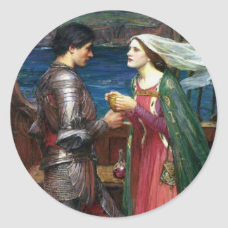 Tristan and Isolde Sticker