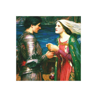 Tristan and Isolde with the Potion ~ (Detail) Canvas Print