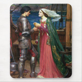 Tristan And Isolde With The Potion Mouse Pad