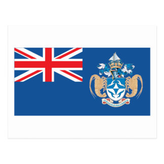 Tristan Da Cunha Flag Postcard