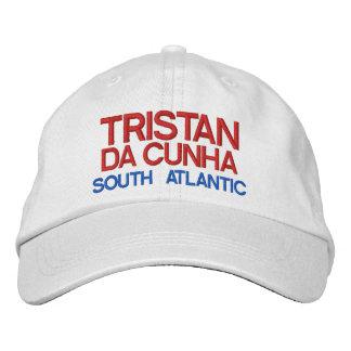 Tristan DA Cunha - gorra del personalizado de la Gorros Bordados
