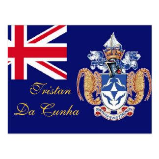 Tristan Da Cunha St Helena postcard