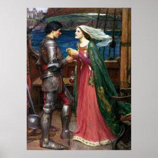 Tristan e impresión de la lona de Isolda Impresiones