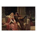 Tristan e Isolda, Edmund Blair Leighton, 1902 Felicitación