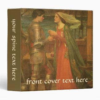 Tristan e Isolda por el Waterhouse, bella arte del