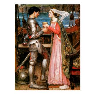 Tristan e Isolda Postales
