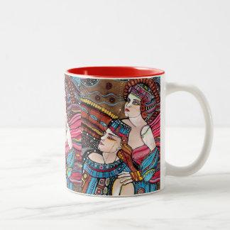 Tristan e Isolda - una historia de amor Taza De Café De Dos Colores