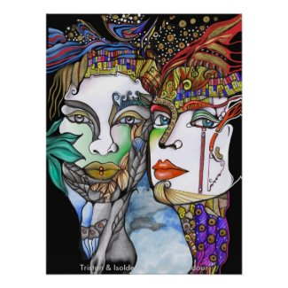 Tristan & Isolde print