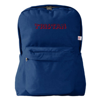 Tristan Name Bookbag Backpack