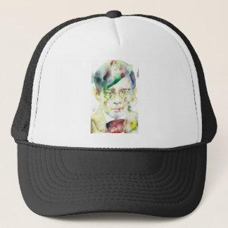 tristan tzara - watercolor portrait trucker hat