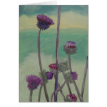 """""""Tristan's Thistles"""" Greeting Card"""
