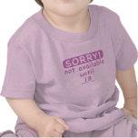 triste/chica camisetas