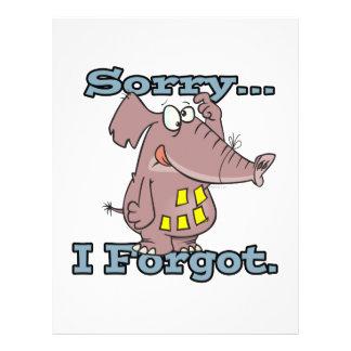 triste lindo olvidé el elefante olvidadizo diverti tarjetones