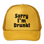 Triste me beben gorras de camionero