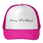 Triste, me poseen gorra