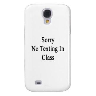 Triste ningún Texting en clase Funda Para Galaxy S4