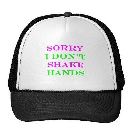 Triste no sacudo las manos 2 gorra