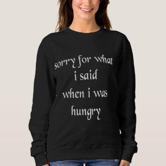 Triste para lo que dije cuándo era camiseta