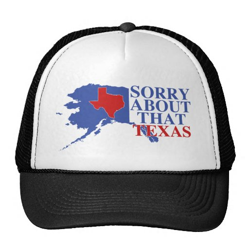 Triste sobre ese orgullo de Tejas - de Alaska Gorros
