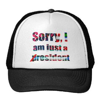 Triste, soy apenas un residente gorra
