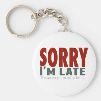 TRISTE soy atrasado… Llavero Personalizado