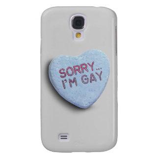 TRISTE soy CARAMELO GAY Funda Para Galaxy S4