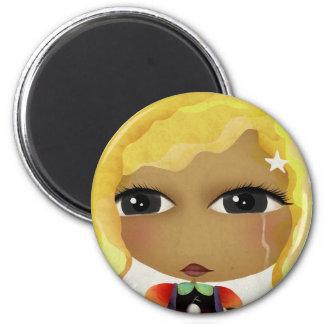 Tristeza Traurigkeit 悲しみ Sadness Tristezza Doll Ma Magnet