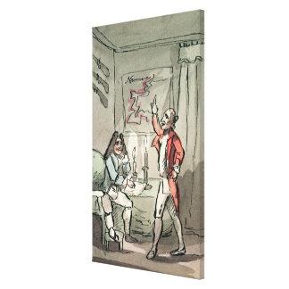 Tristram Shandy, 1786 Canvas Print