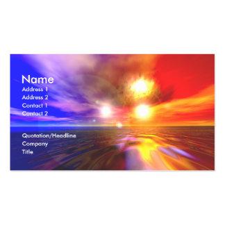 Trisuns - negocio tarjetas de visita