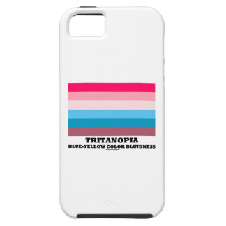 Tritanopia Blue-Yellow Color Blindness iPhone SE/5/5s Case
