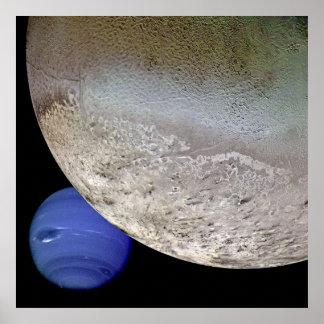 Tritón con Neptuno Impresiones