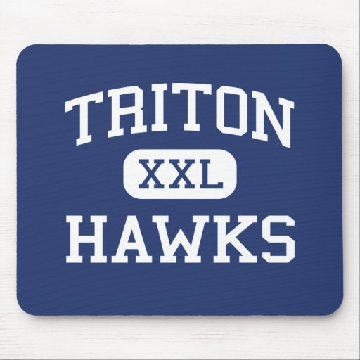 Triton - Hawks - High - Erwin North Carolina Mouse Pad