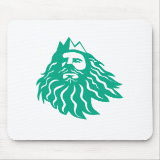 Triton Looking Up Retro Mouse Pad