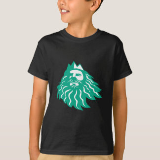 Triton Looking Up Retro T-Shirt