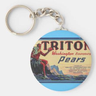 triton pears keychain