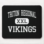 triton regional - vikings - high - Byfield Mouse Pads