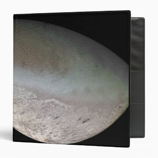 Triton, the largest moon of planet Neptune 3 Ring Binder