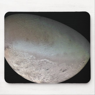 Triton, the largest moon of planet Neptune Mouse Pad