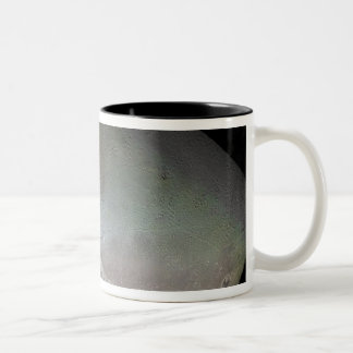 Triton, the largest moon of planet Neptune Two-Tone Coffee Mug