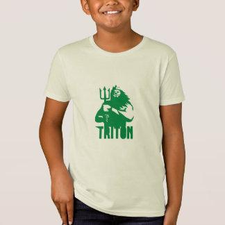 Triton Trident Isolated Retro T-Shirt