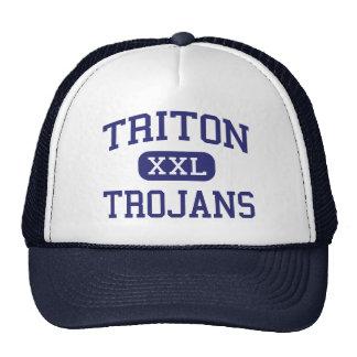 Tritón - Trojan - High School secundaria - Borbón Gorro