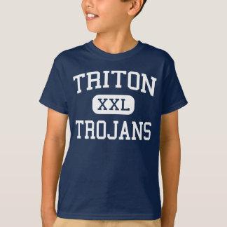 Triton - Trojans - High School - Bourbon Indiana T-Shirt