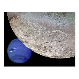 Triton with Neptune Postcard