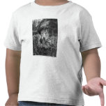 Tritons grooming two horses of the sun t shirts