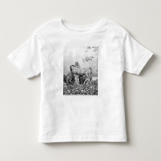 Tritons grooming two horses of the sun toddler t-shirt